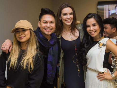 Jessica Sanchez (American Idol), Marc Nicolas (Emmy award winning TV producer), Krista Kleiner (Ms. Philippines), Dr. Tess