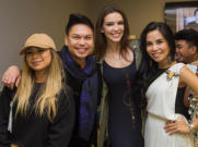 Jessica Sanchez (American Idol), Marc Nicolas (Emmy winning producer), Krista Kleiner (Ms. Philippines), Dr. Tess