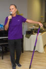 Ageless Living & Vitality Stick Trainer Rico Caveglia